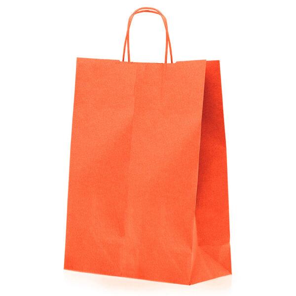 Effetto Grafico - Shopper di carta arancio