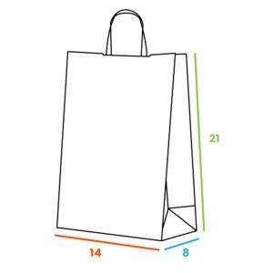 Effetto Grafico - Dimensioni 14x8x21