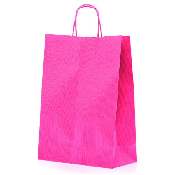 Effetto Grafico - Shopper di carta fuxia
