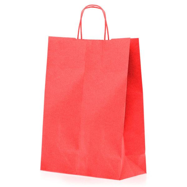 Effetto Grafico - Shopper di carta rossa