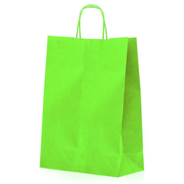 Effetto Grafico - Shopper di carta verde