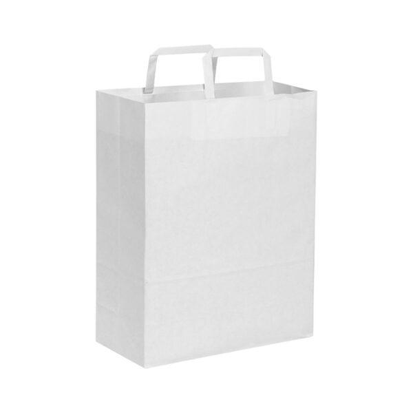 Effetto Grafico - Accendi le tue idee - Shopper piattina bianca 80 gr