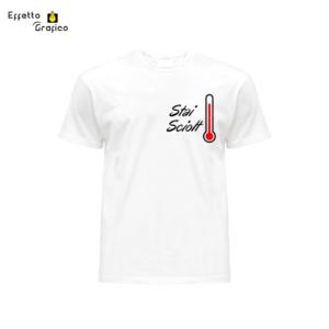 """T-Shirt personalizzata con stampa """"Stai Sciolt"""""""